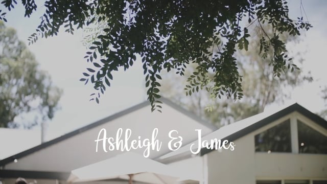 Ashleigh & James 's wedding