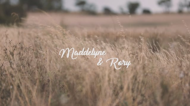 Maddelyne & Rory's Wedding Video